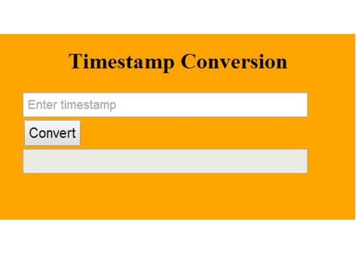 Chrome Time-conversion Extension – screenshot 1