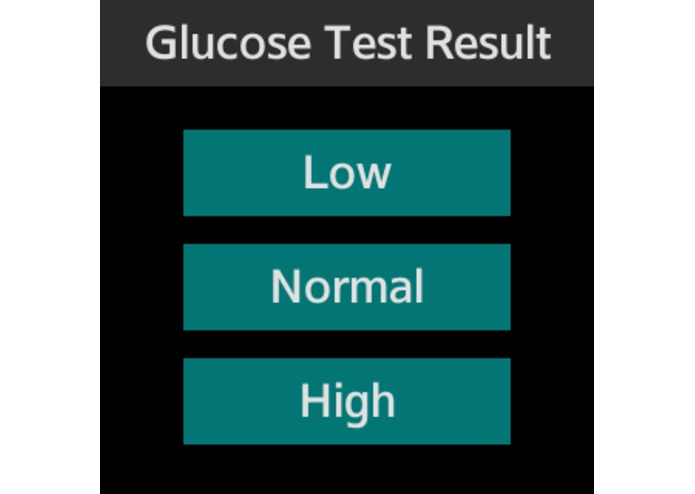 Gluco Monitor – screenshot 1