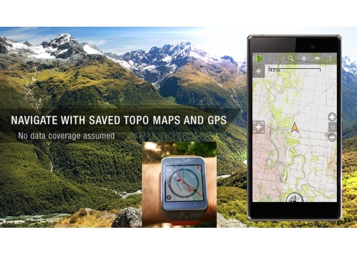 BackCountry Navigator for Gear 2 – screenshot 3