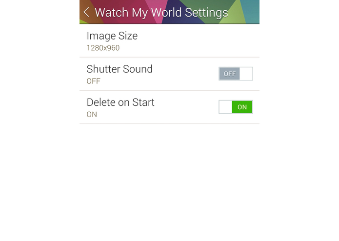 Watch My World – screenshot 2
