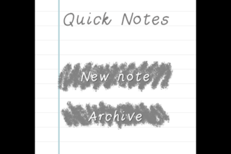 "Quick Notes — ""Hand-Written Note App for Samsung Gear"""