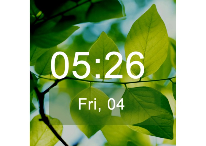Rain Drops Watch Face for Gear 2 – screenshot 3