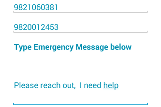 SOS Emergency App