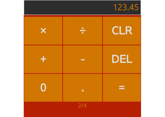 Wearable Calculator for Gear – screenshot 2