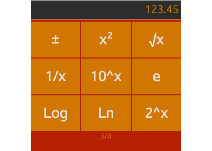 Wearable Calculator for Gear – screenshot 3