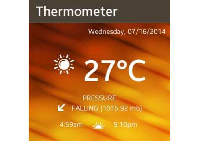 Hot Weather Thermometer – screenshot 2