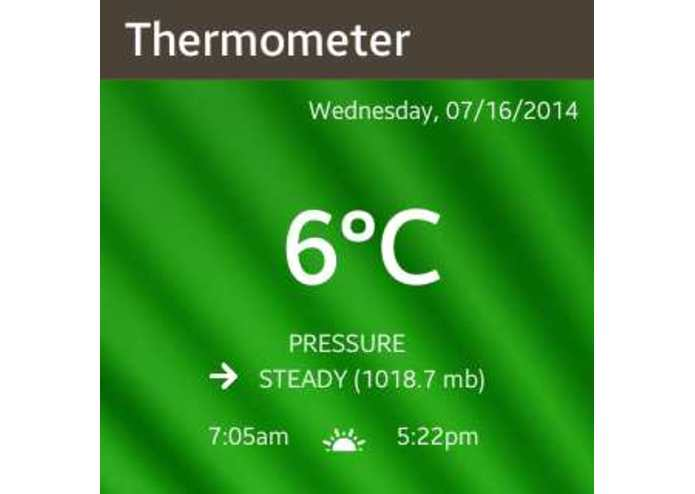 Hot Weather Thermometer – screenshot 4