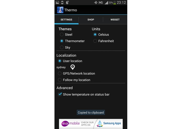 Hot Weather Thermometer – screenshot 6