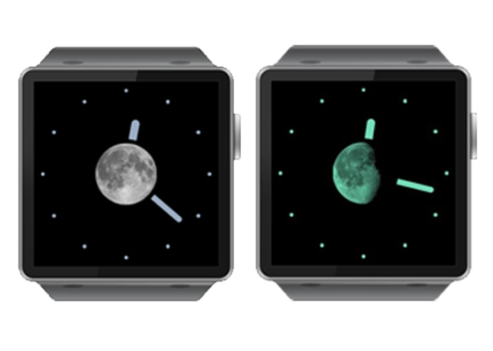 Lunar Clock - Beautiful Moon Phase Clock – screenshot 1