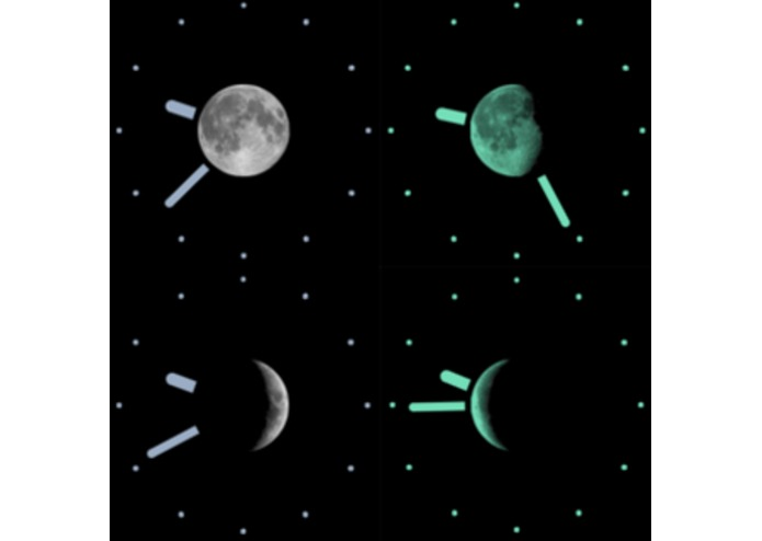 Lunar Clock - Beautiful Moon Phase Clock – screenshot 2