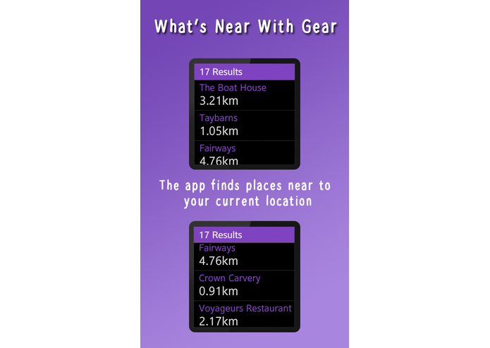 What's Near With Gear (version 1) – screenshot 2