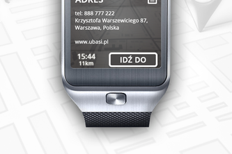 POI nearby for Galaxy Gear 2