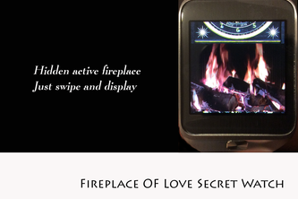 Fireplace of love Secret Watch