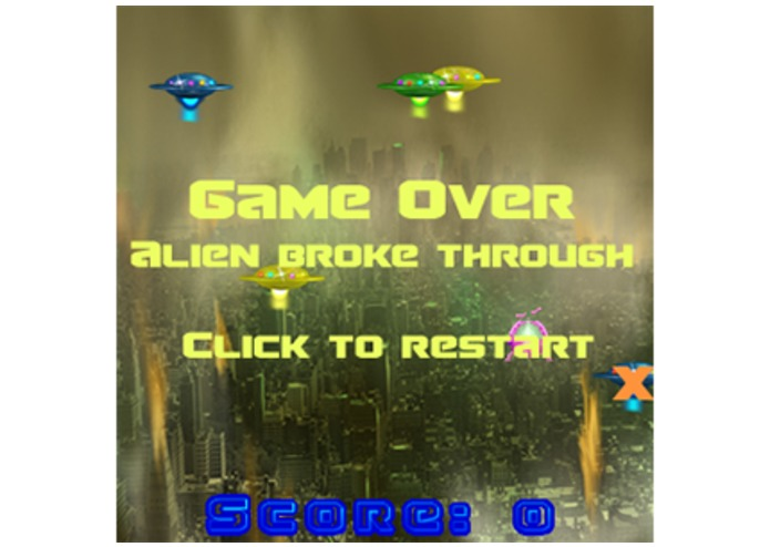 Alien Invasion Game – screenshot 3