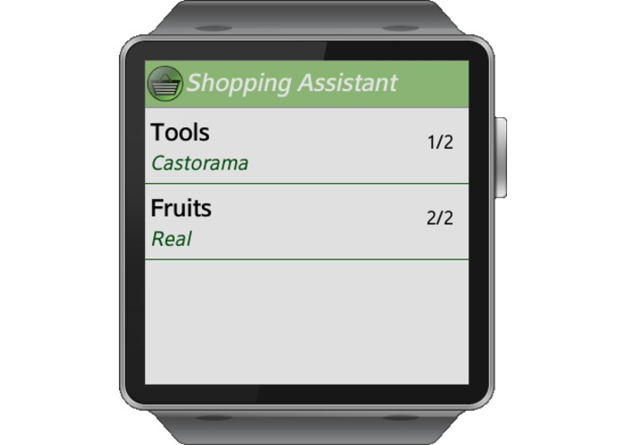 ShoppingAssistant – screenshot 1