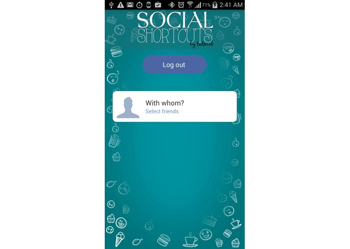 Social shortcuts – screenshot 1