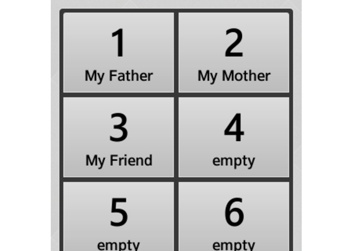 Speed Dialer – screenshot 1