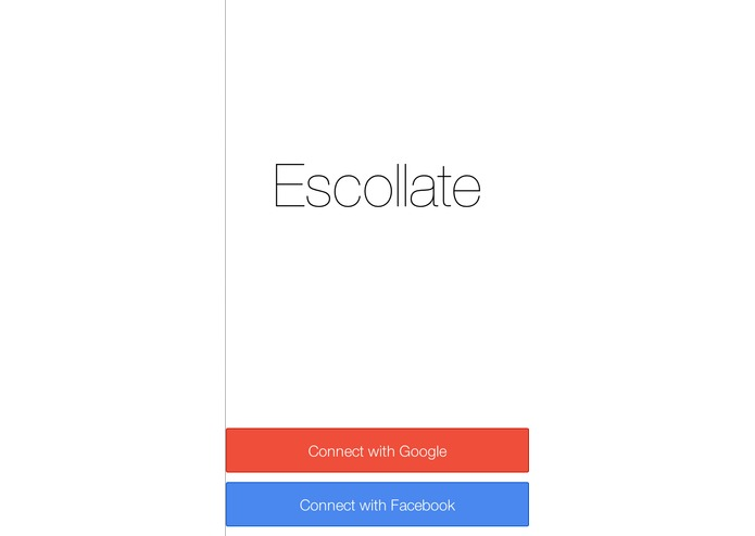 Escollate – screenshot 1