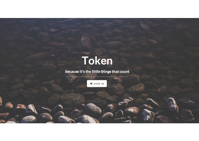 Token – screenshot 1