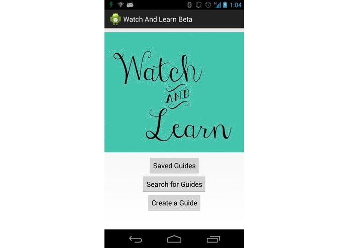 Watch and Learn – screenshot 1