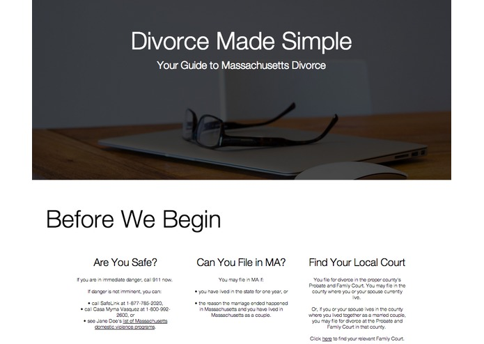 Divorce Decoded – screenshot 1