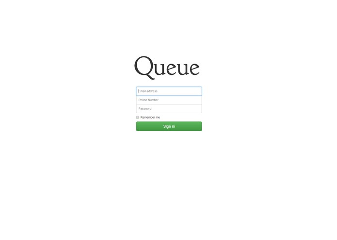 Queue – screenshot 1