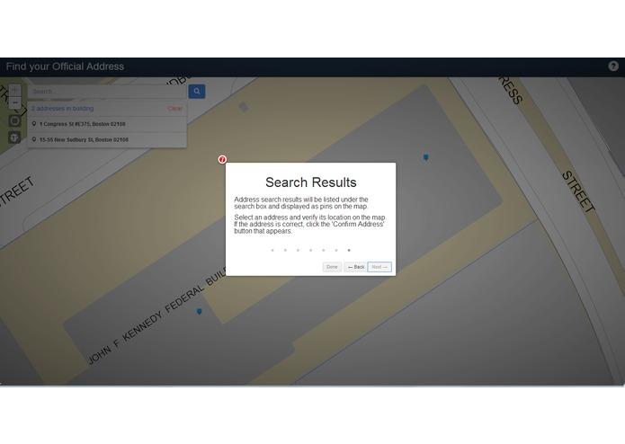City of Boston Official Address Search – screenshot 6