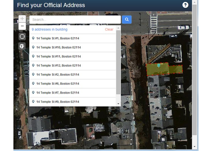 City of Boston Official Address Search – screenshot 10