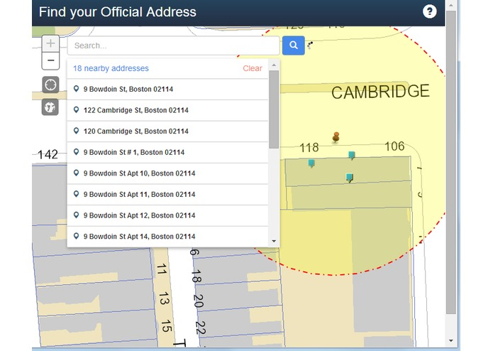 City of Boston Official Address Search – screenshot 11