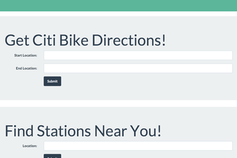 CitiBike Finder