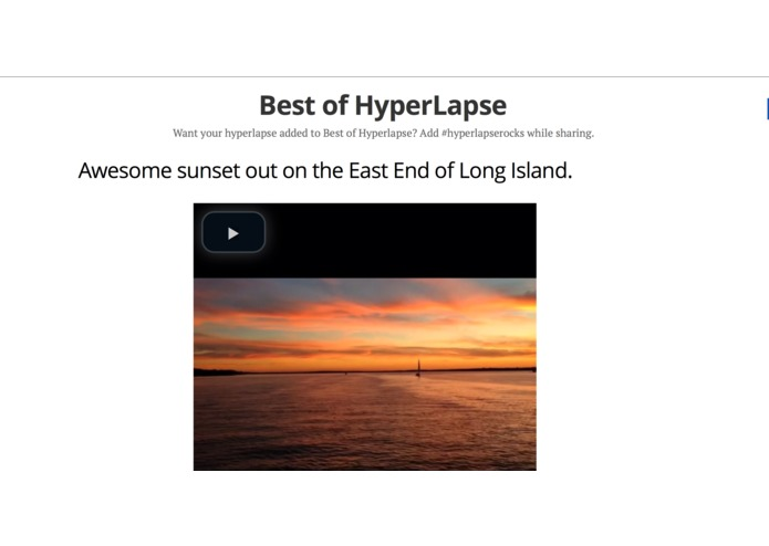Best of Hyperlapse – screenshot 1