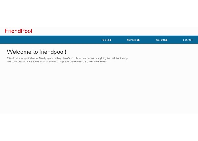 FriendPool – screenshot 1
