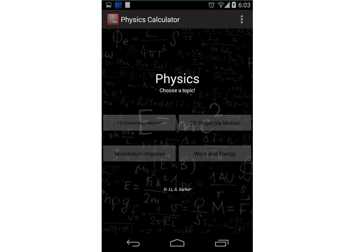Physics Solver – screenshot 3