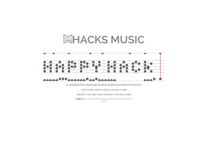 MHacks Music – screenshot 2
