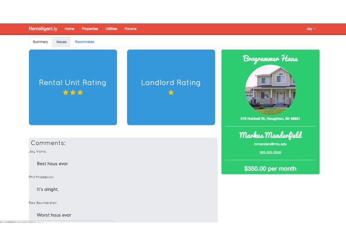 Rentelligent.ly – screenshot 1