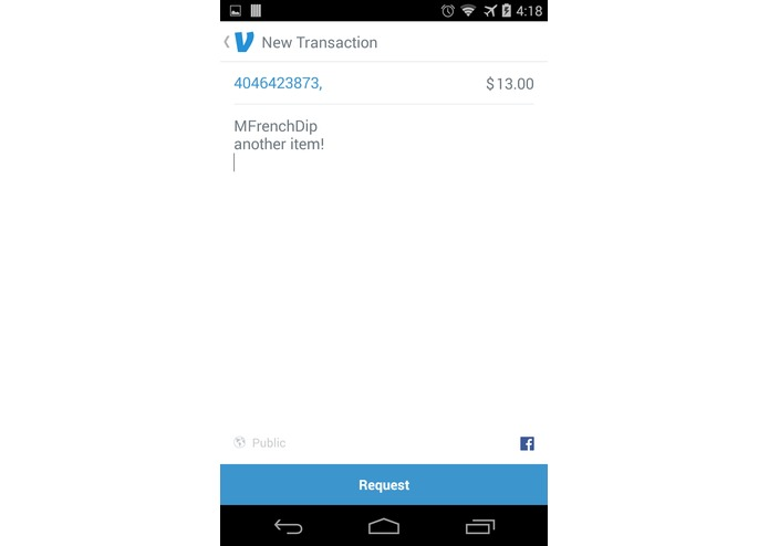 Venmo Your Receipt – screenshot 3
