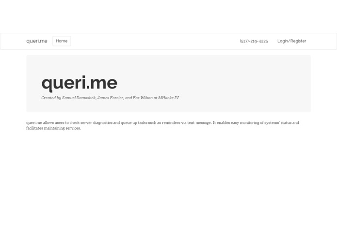 queri.me – screenshot 3