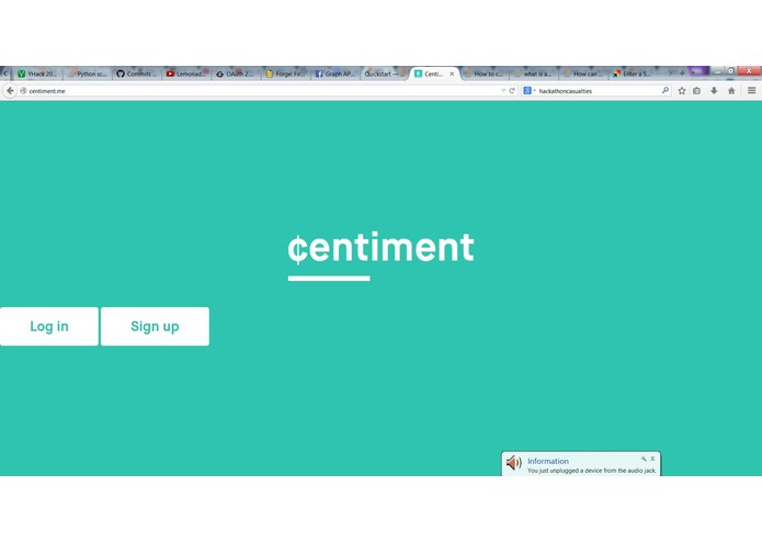 Centiment – screenshot 2