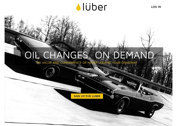 LUBER - Rethinking Oil Changes – screenshot 1