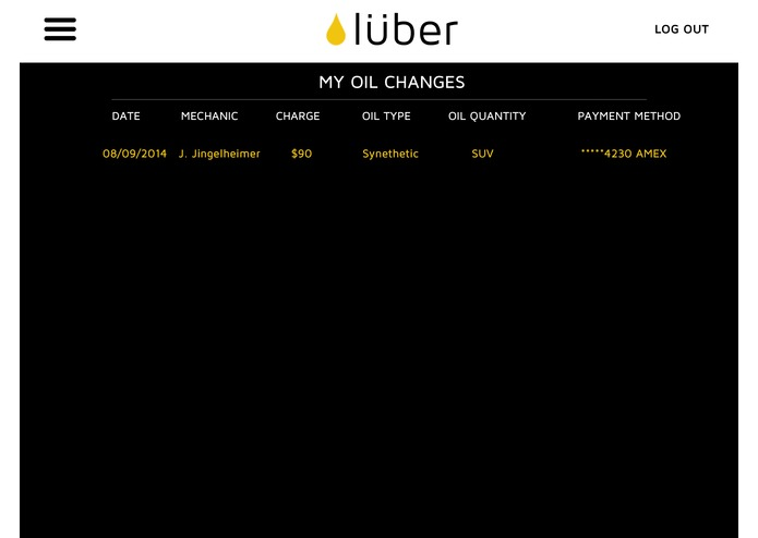 LUBER - Rethinking Oil Changes – screenshot 4