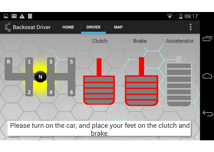 Backseat Driver: The Stickshift Learner's Sidekick – screenshot 1