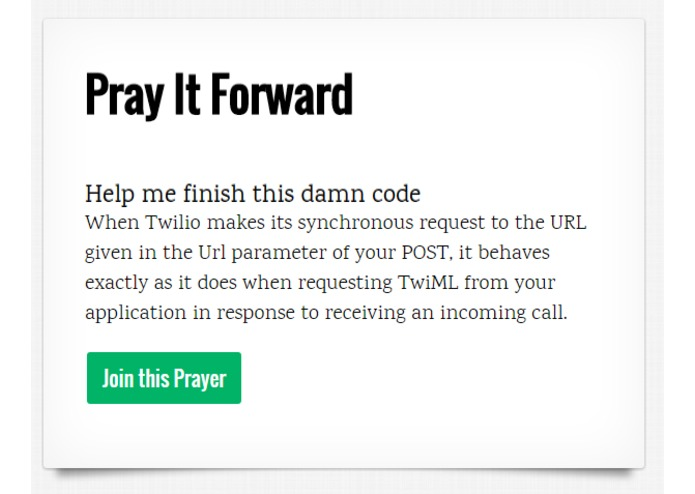 Pray It Forward – screenshot 2