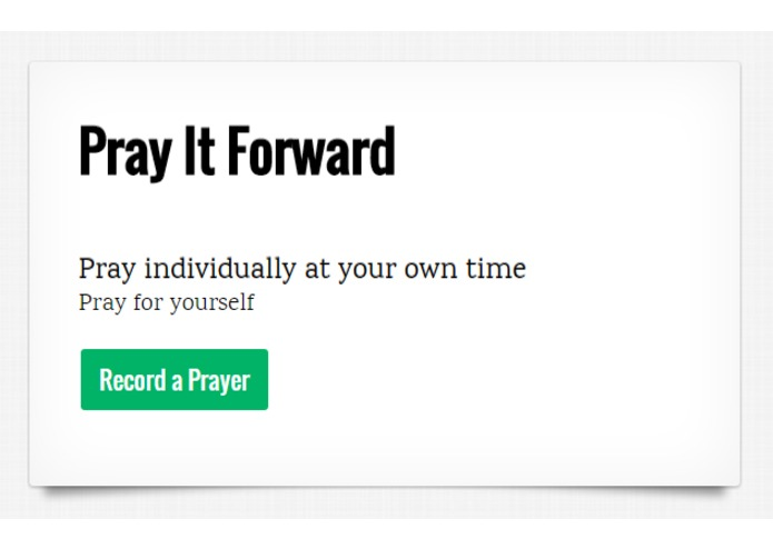 Pray It Forward – screenshot 4