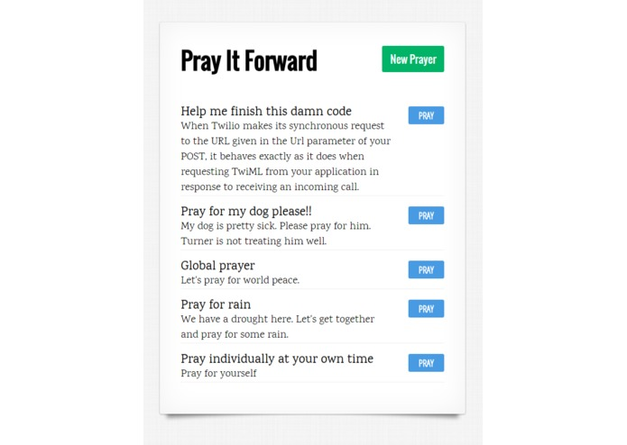 Pray It Forward – screenshot 5