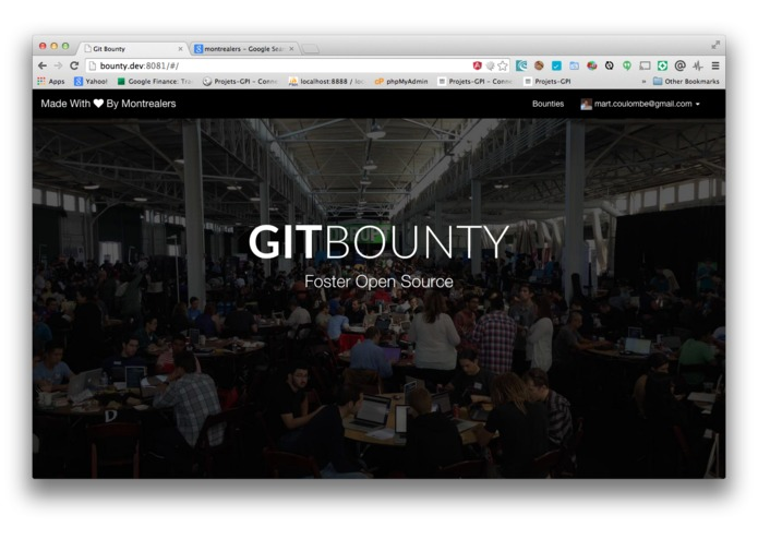 GIT BOUNTY – screenshot 1