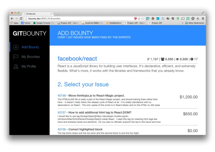GIT BOUNTY – screenshot 3