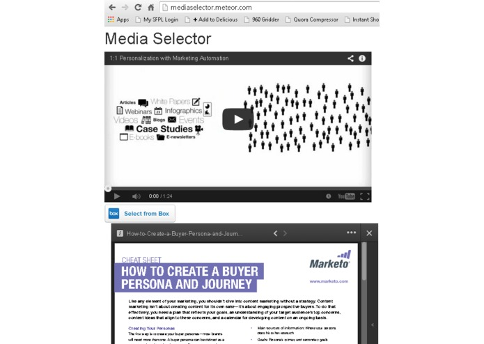 Media Selector – screenshot 1
