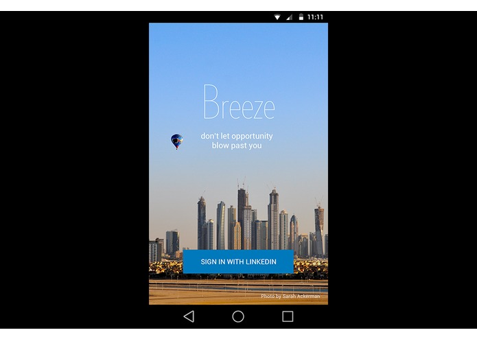 Breeze – screenshot 1