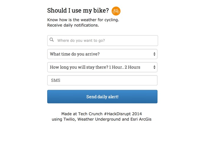 Should I use my bike ? – screenshot 1