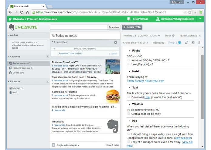 BizMem – screenshot 3
